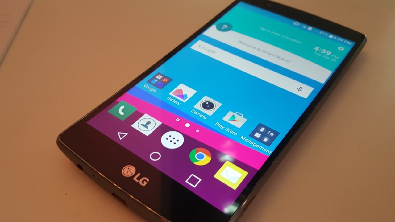 LG outs range-topping G4 smartphone with 'Quantum' display and 16MP camera