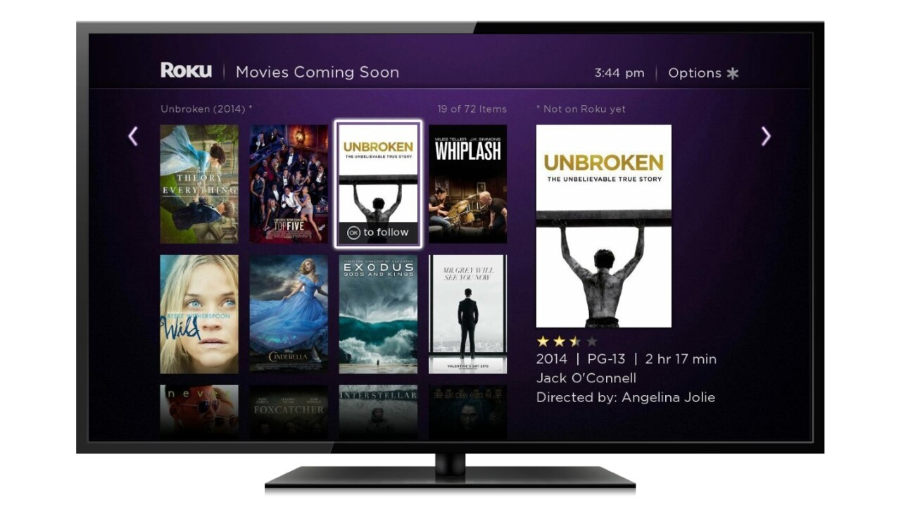 Roku updates Roku 2 and 3 streaming players, reveals new Search and Feed features