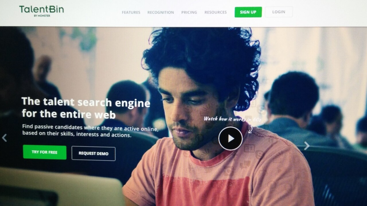Monster's TalentBin skips resumes to help recruiters find tech talent in Asia