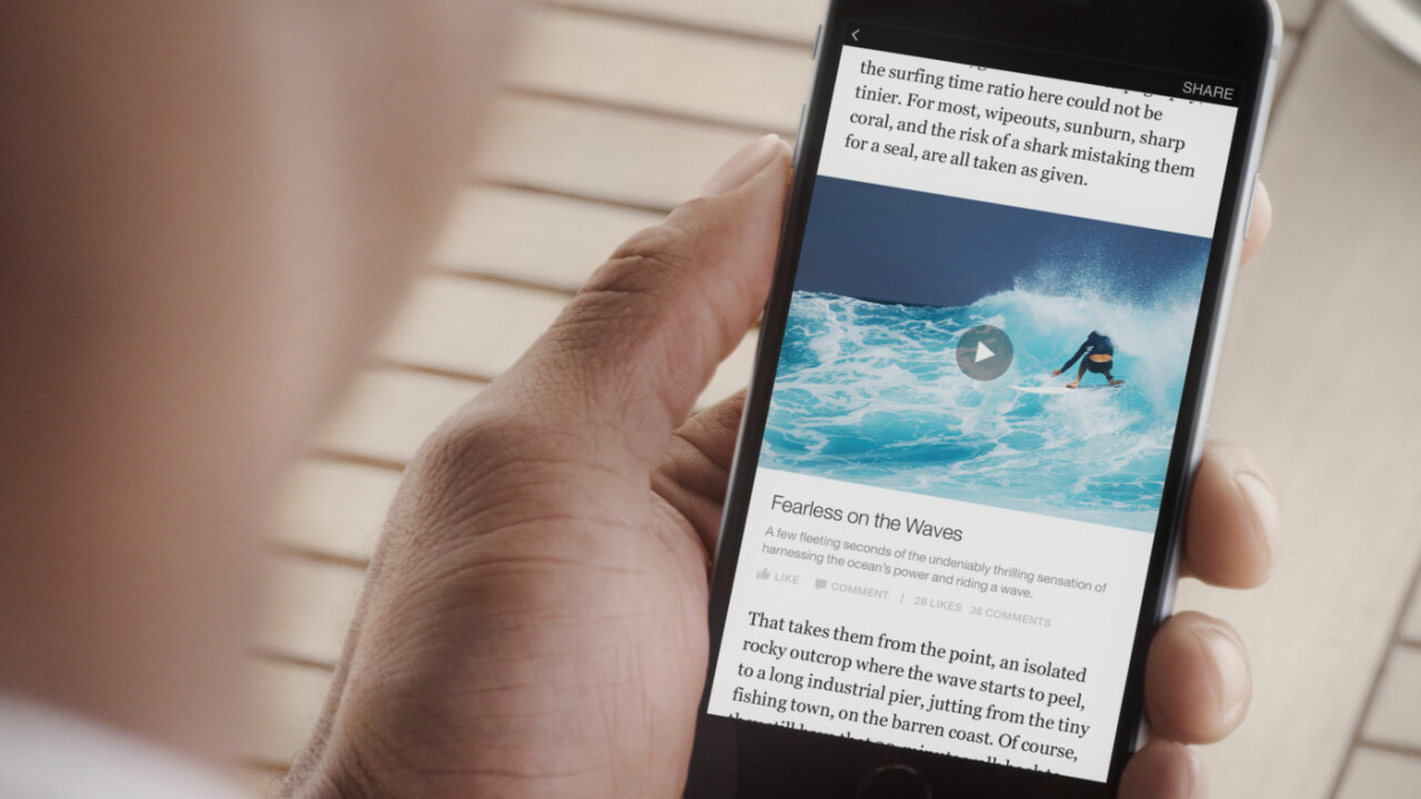 Here's how people are reacting to Facebook hosting news articles