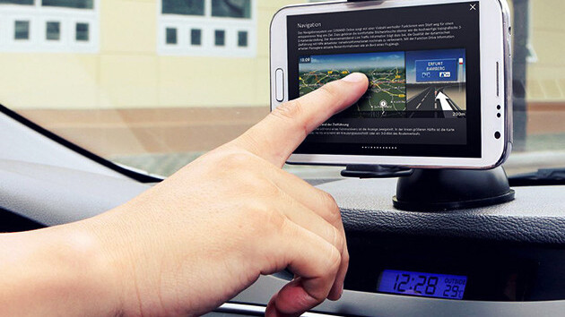 The ExoMount Touch gives your phone the best seat in your car – get it now from TNW Deals