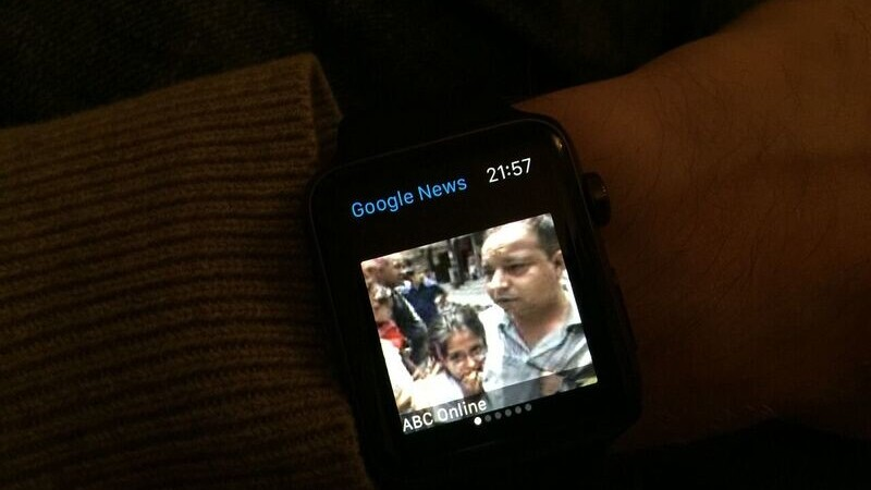 Google launches its first Apple Watch app with News & Weather