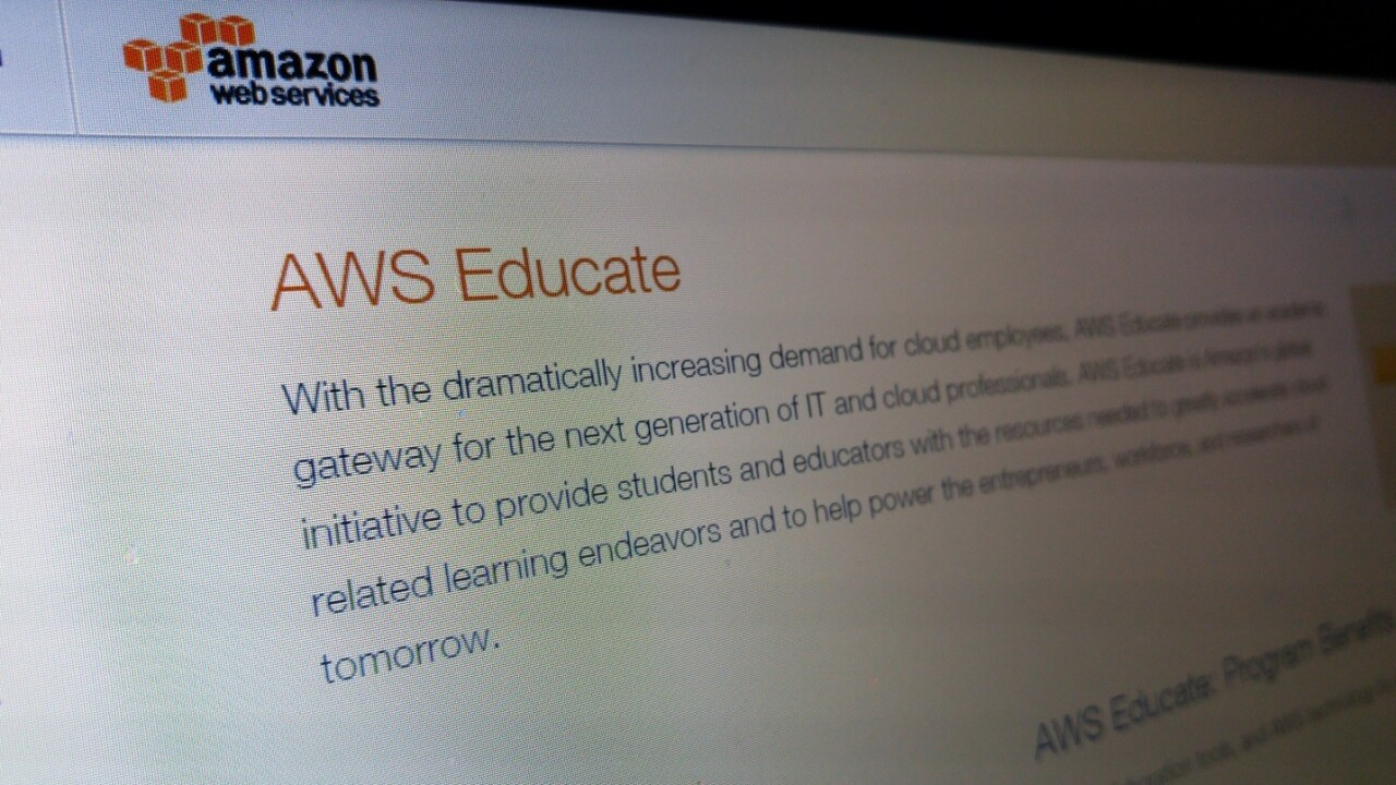Amazon wants to train young people to become cloud experts