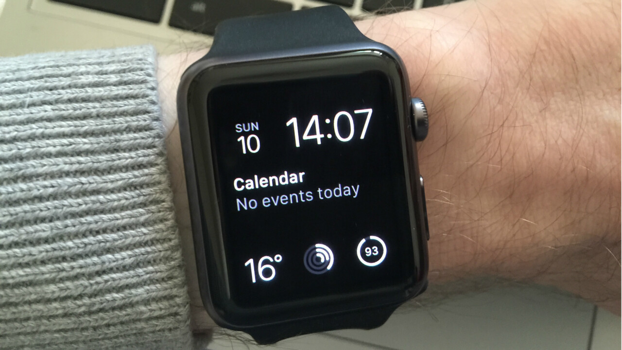 Apple Watch update may feature 'Find my Watch' and third-party widgets