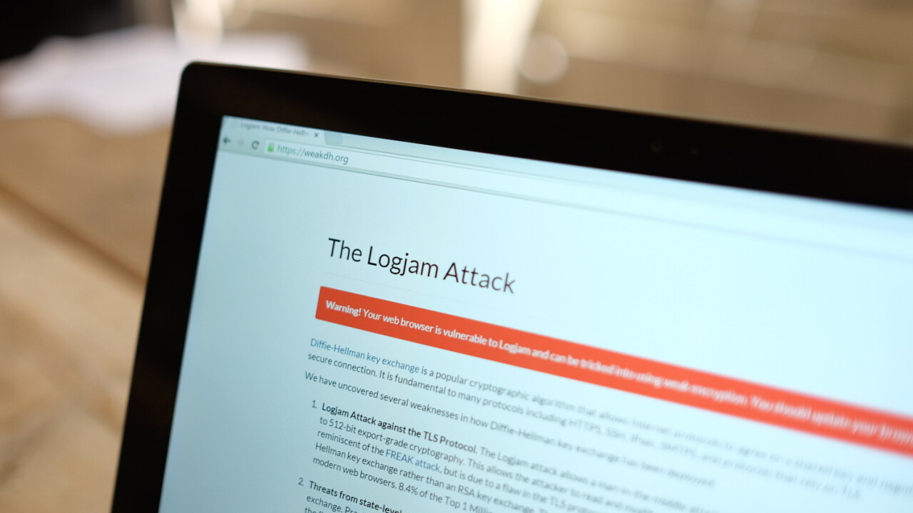 """There's a new problem with SSL called """"Logjam"""", here's what you need to know"""