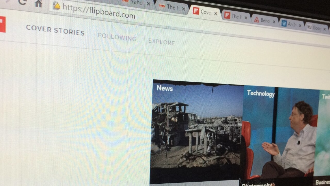Yahoo and Google reportedly want to buy Flipboard to up their content game