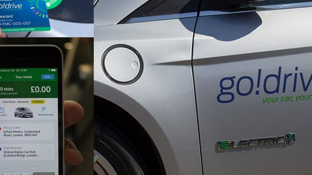 Ford launches pay-per-minute GoDrive carsharing service in London