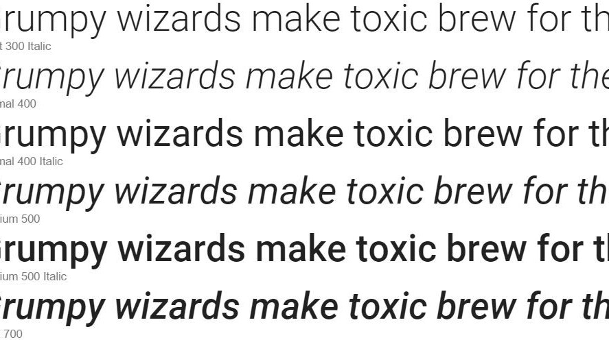 Google has made its Roboto font totally open source