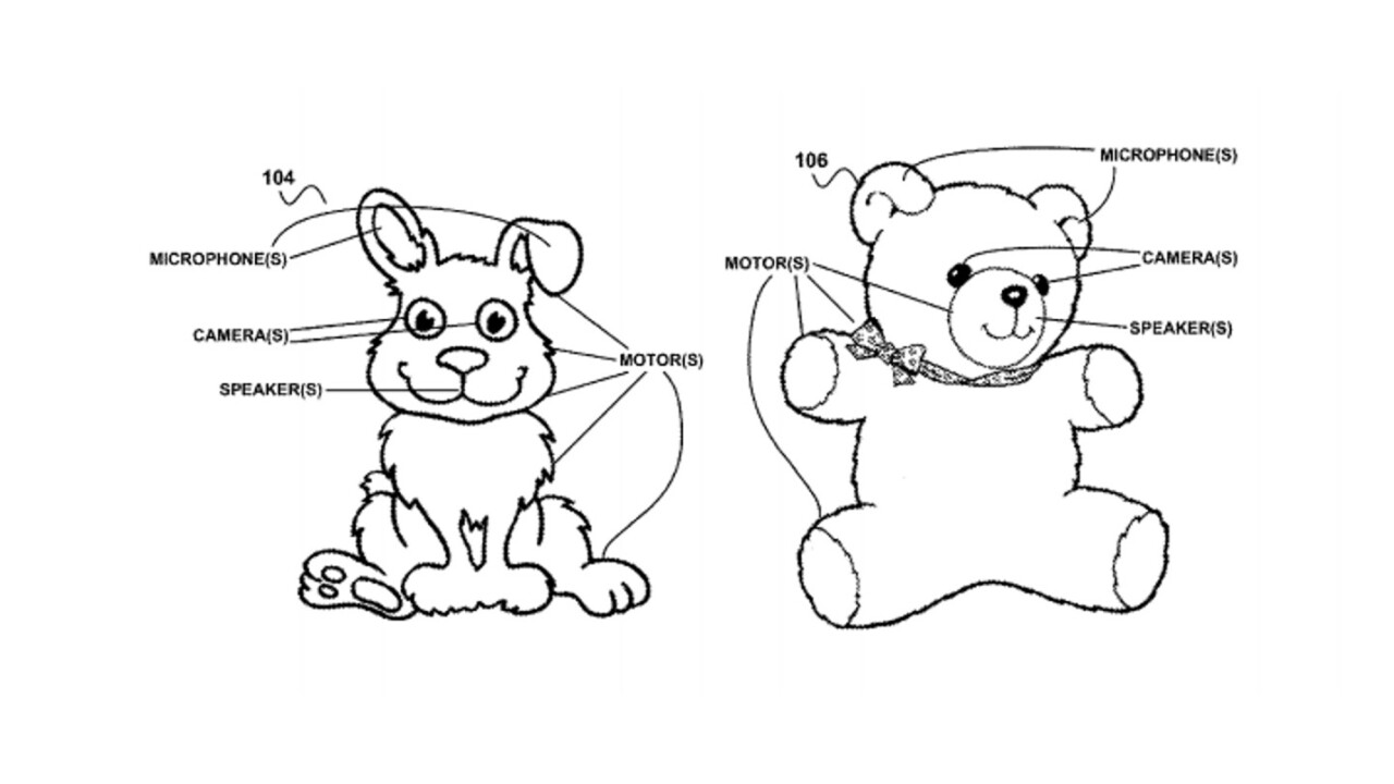 Google has patented a smart teddy and I find that pretty terrifying
