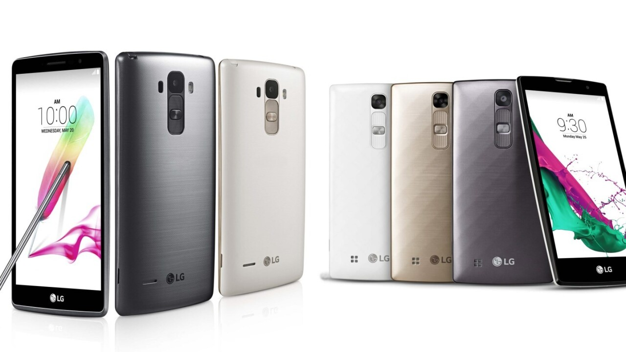 LG introduces phablet and compact variants of its latest G4 flagship phone