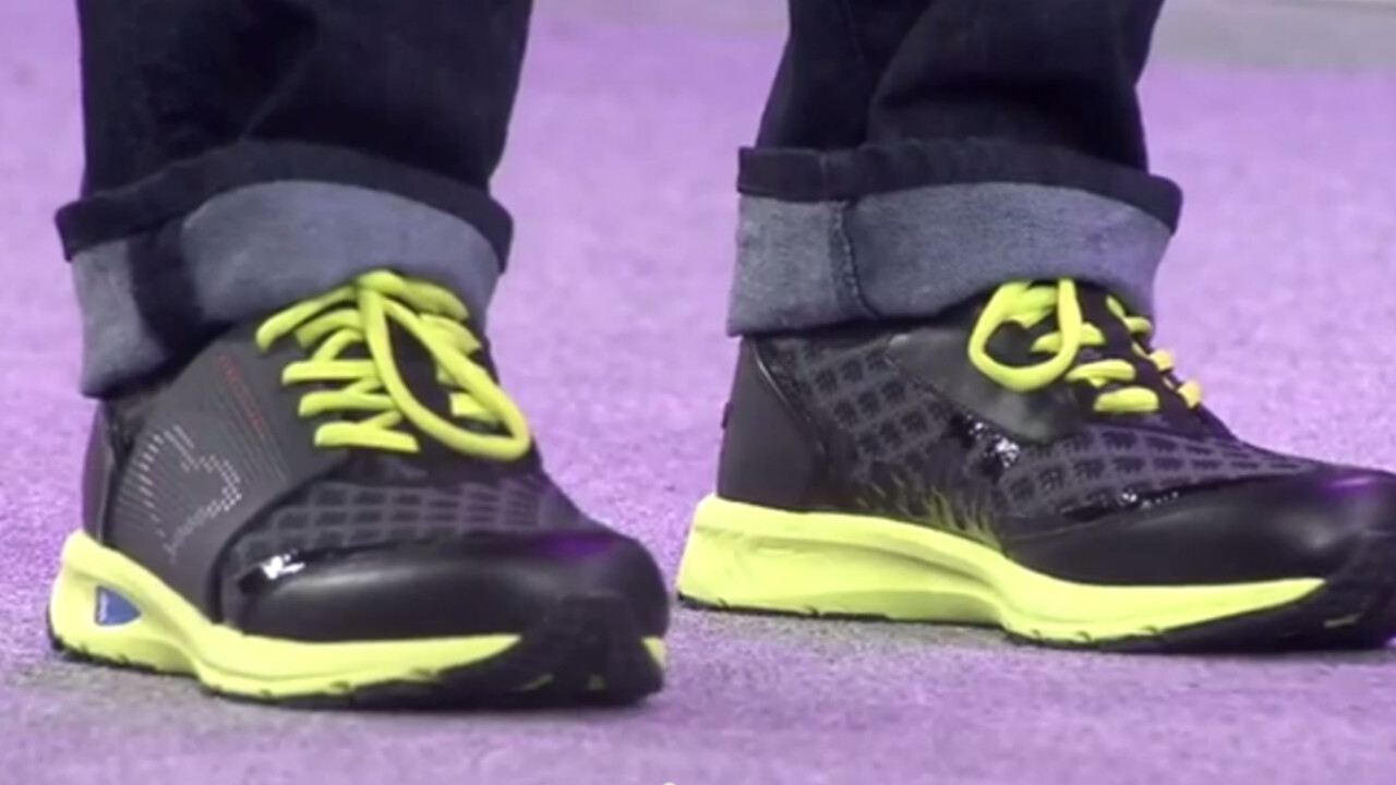 Lenovo's new shoes might just be smarter than you