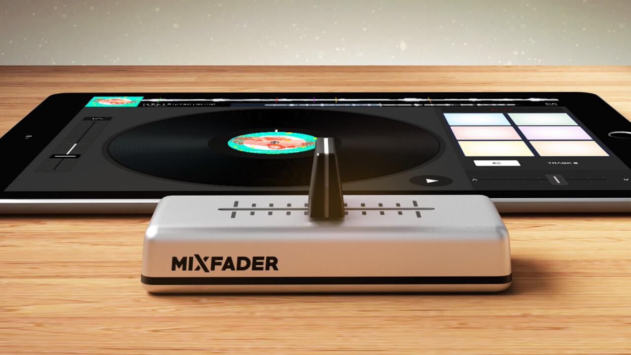Edjing wireless 'Mixfader' crossfader comes to Kickstarter, shipping in November