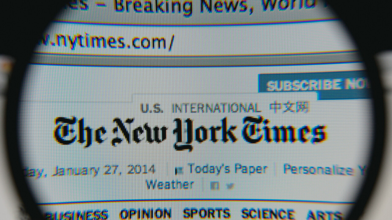 Watch out: The New York Times is trying to block your ad-blocker