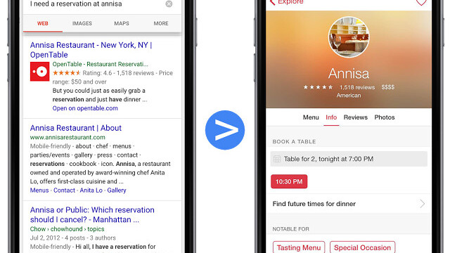 Google Search on mobile now prompts you to install iOS apps and surfaces content within them