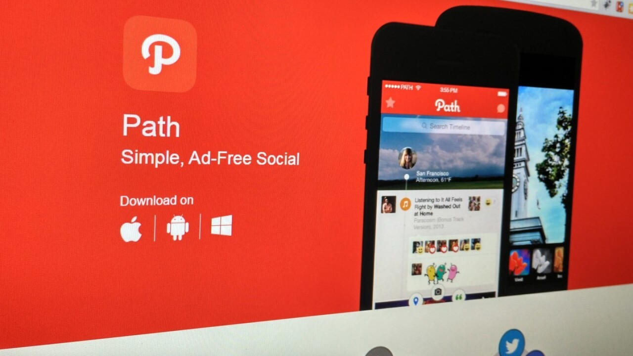 Path's social networking app has been acquired by South Korea's Daum Kakao