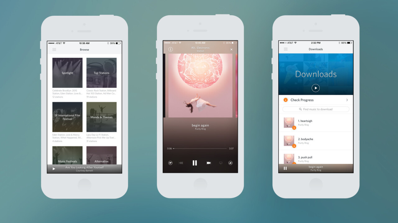Rdio's new 'Select' tier offers ad-free radio and on-demand tracks for $3.99 per month
