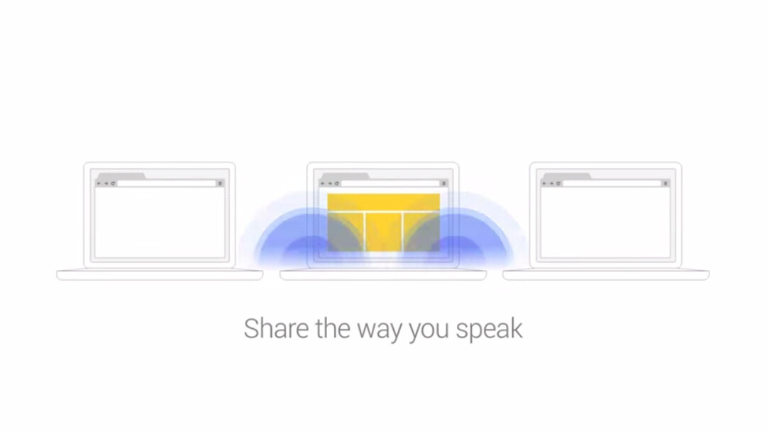 Google's Tone Chrome extension transmits between computers via sound