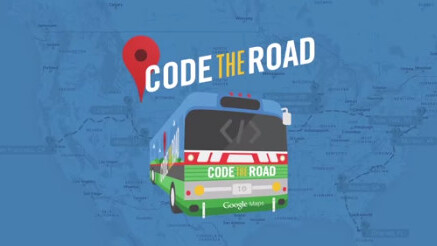 The Google Maps team is making an epic US road trip in a vintage tour bus