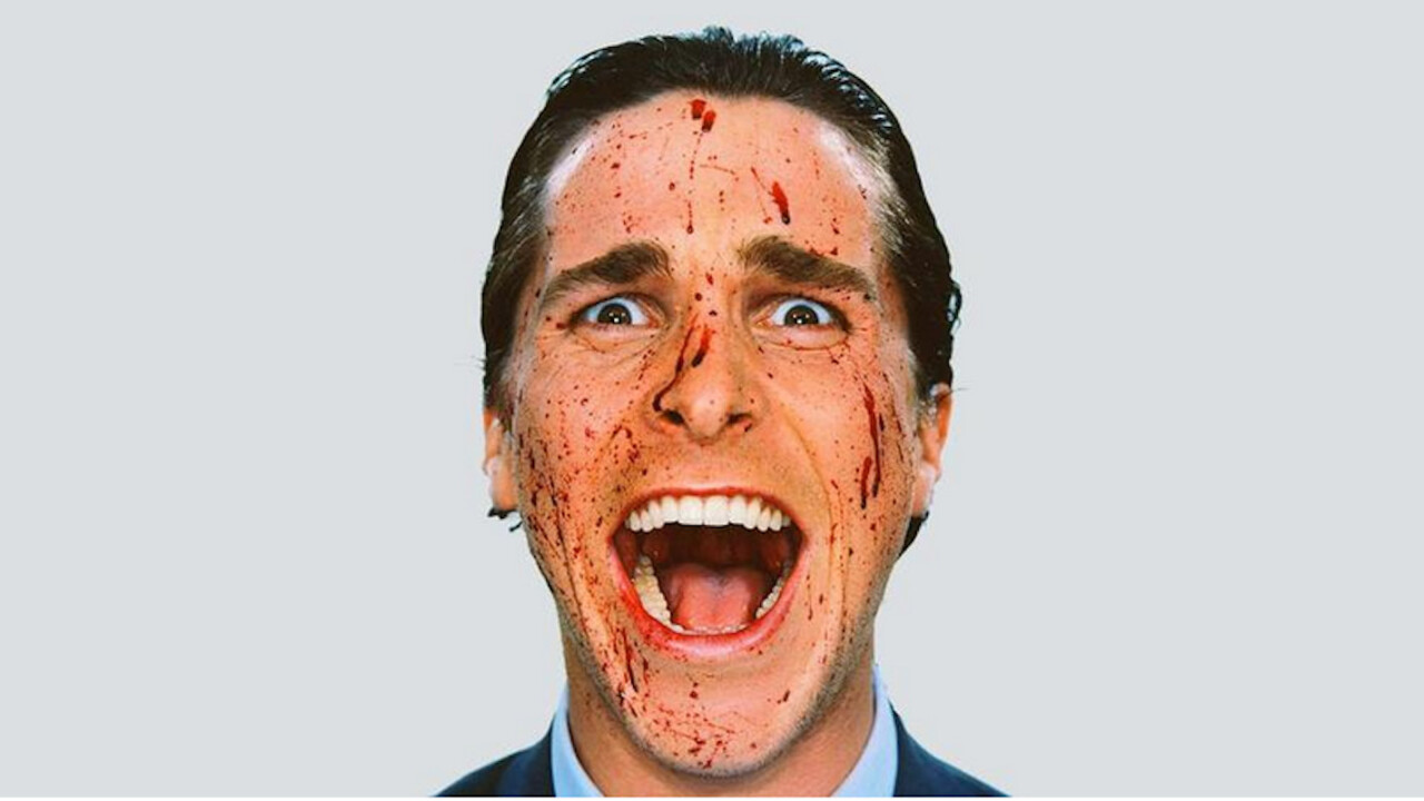 Someone pitched their Apple Watch app to our fake Patrick Bateman