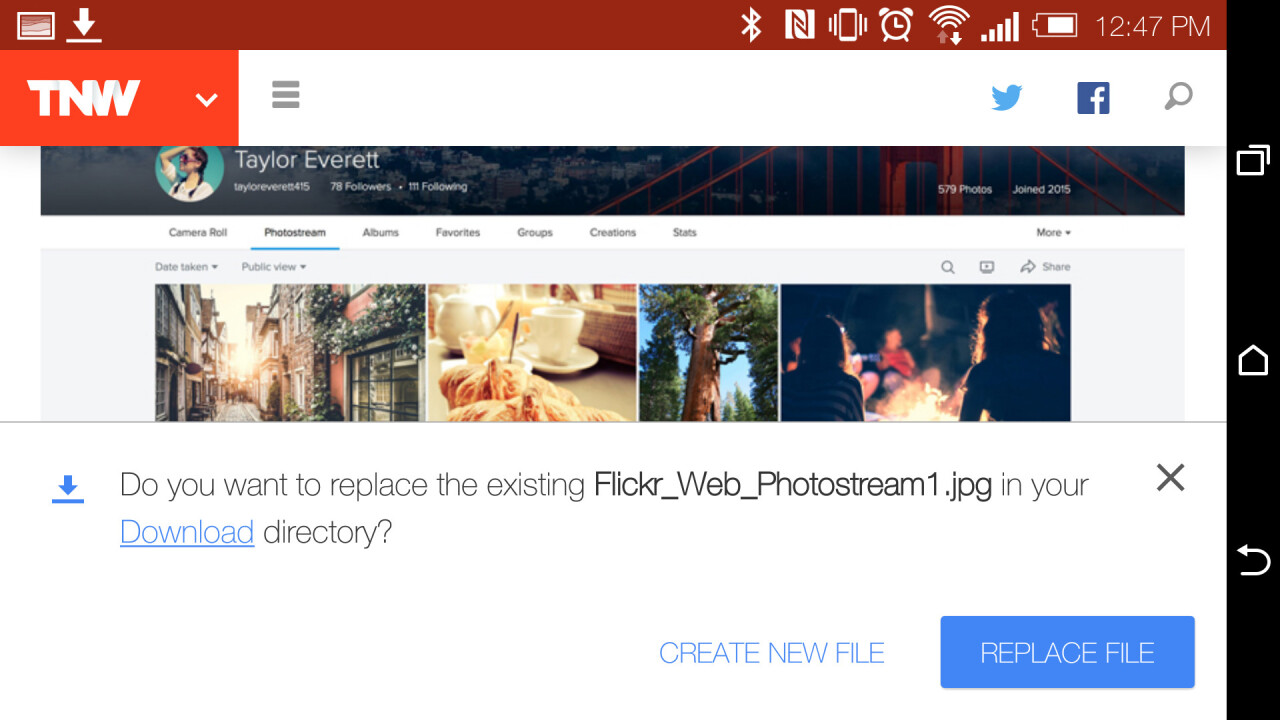 Chrome Beta for Android now prompts you to replace downloads instead of making duplicates