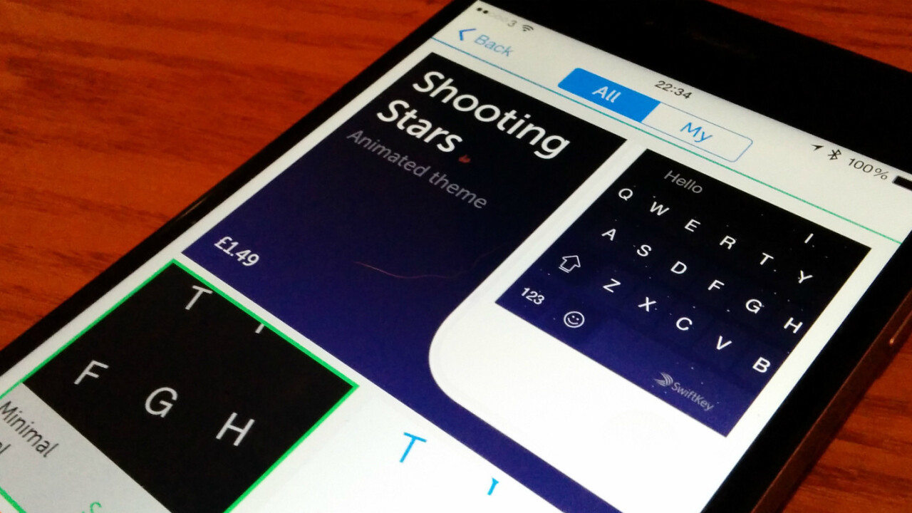 SwiftKey for iOS now lets you buy themes – and it's a lot more stable, too