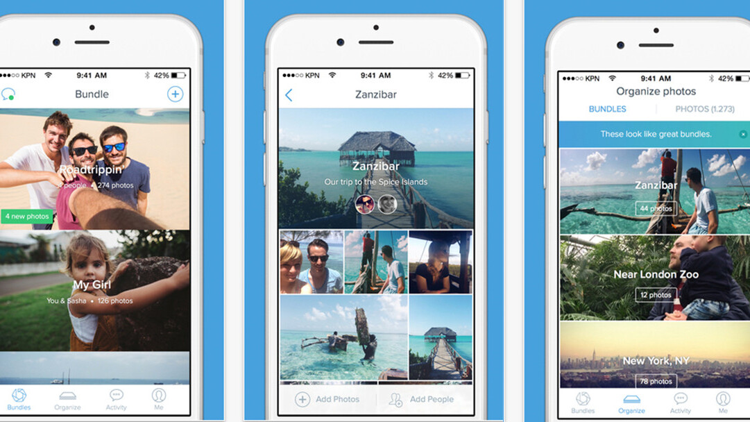 Bundle photo management and sharing app lands on iOS and Android