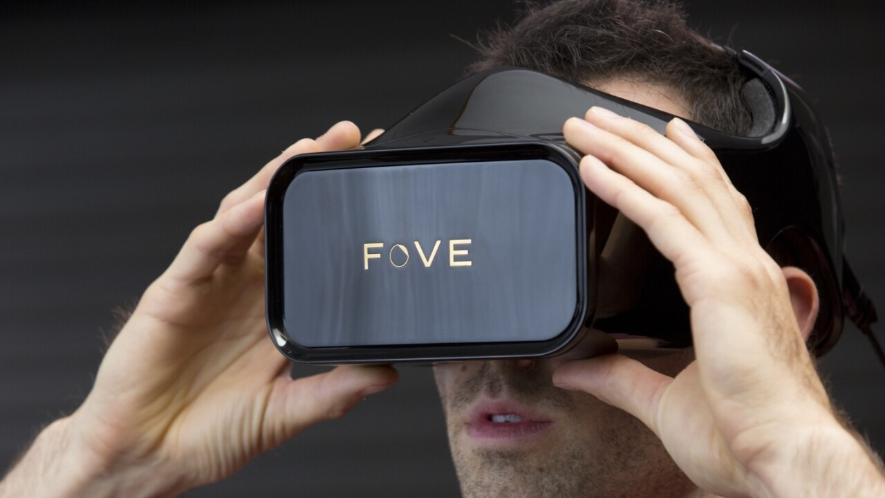 Fove's $250,000 Kickstarter campaign wants to bring eye-tracking control to virtual reality