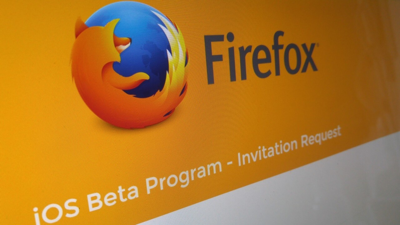 You can now request an invite to beta test Firefox on iOS, sort of
