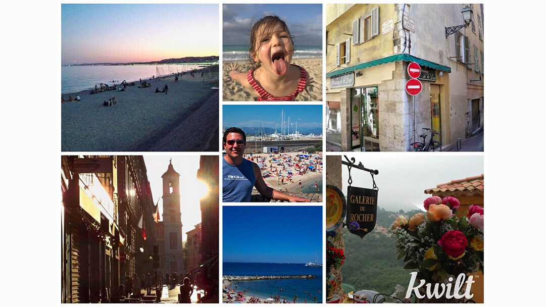 Kwilt's iOS multi-source photo album gets a new look and updated collage maker