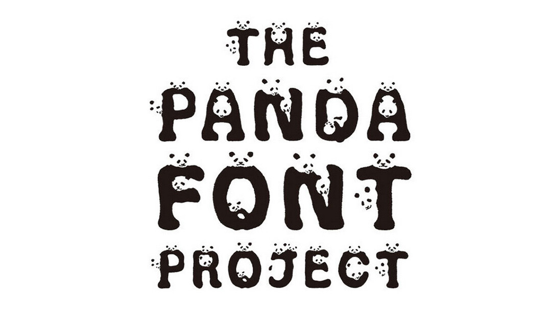 New Panda font is designed to help protect beloved animals