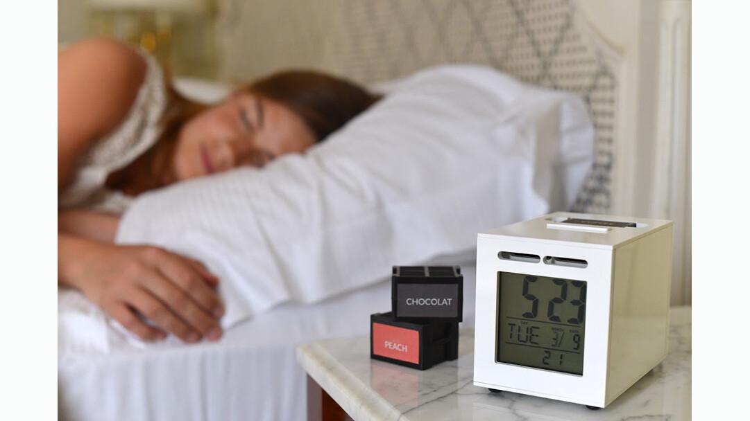 SensorWake launches on Kickstarter to make waking up a pleasant olfactory experience