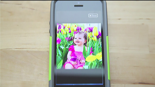 Sherish for iPhone privately stores, shares and protects your family photos