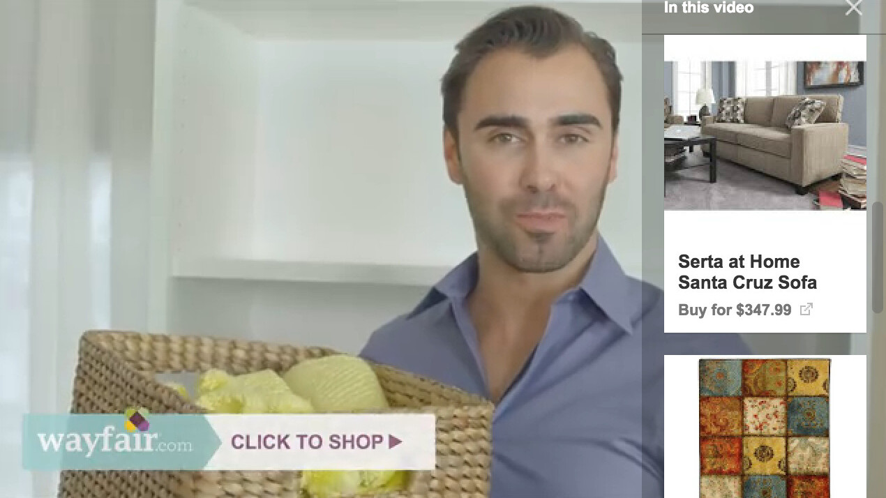 Google makes it easier to buy products in YouTube ads
