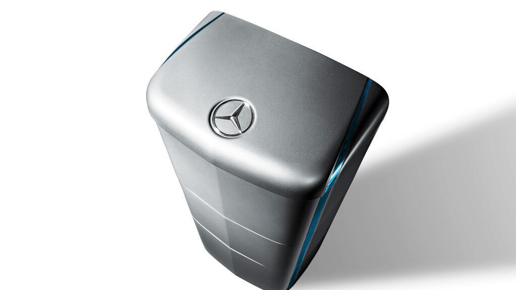 Mercedes-Benz has its own Tesla-like battery for your home