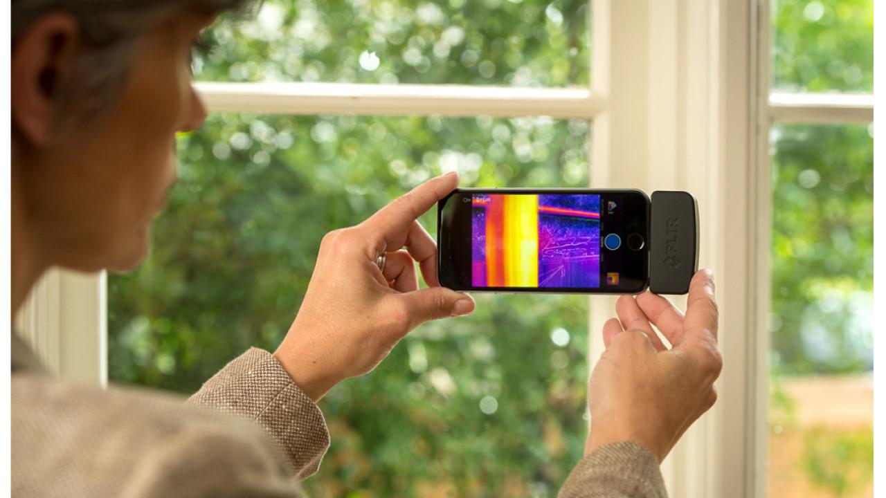 Flir releases updated thermal imaging camera for iOS