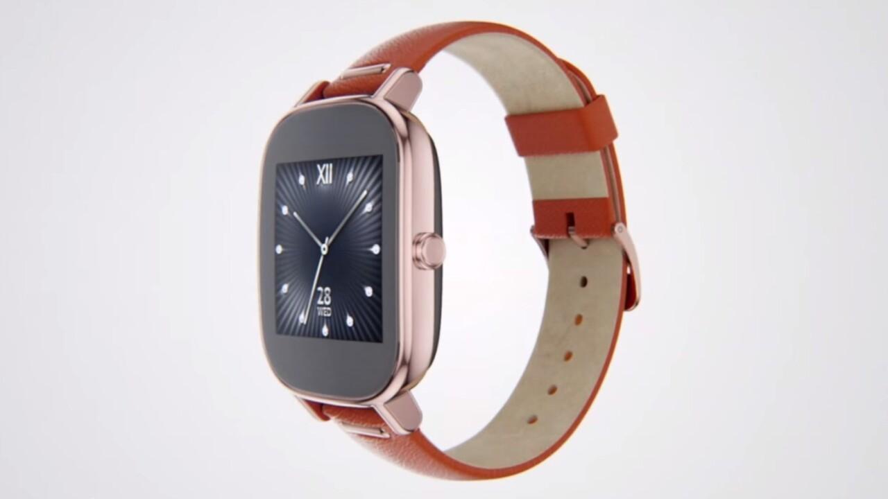 Asus ZenWatch 2 gains digital crown, might seem familiar to Apple Watch fans