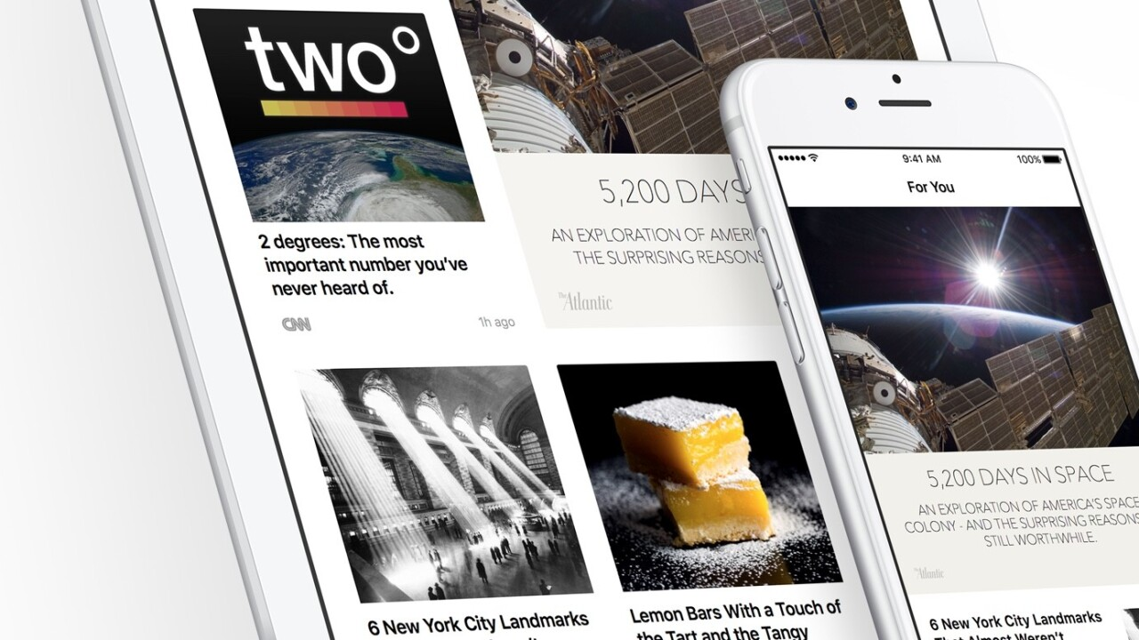 Apple blames glitch for being clueless about its News app user numbers