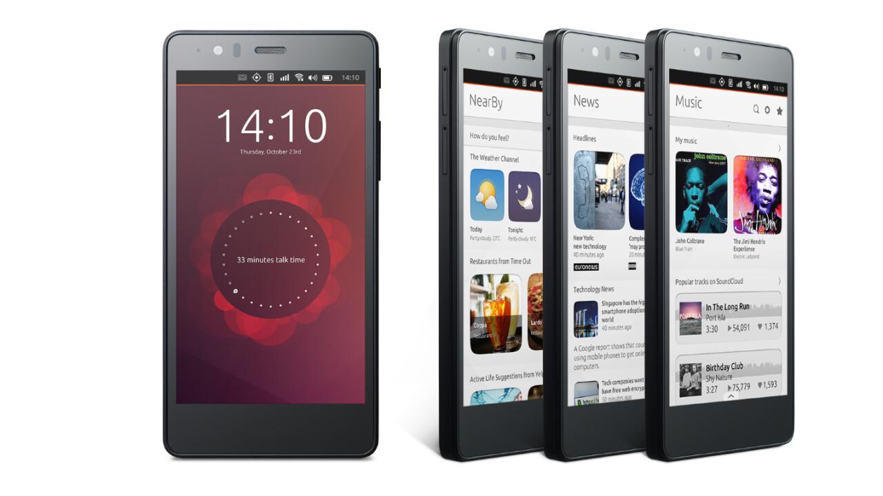 BQ's second Ubuntu OS handset arriving mid-June for just under €200