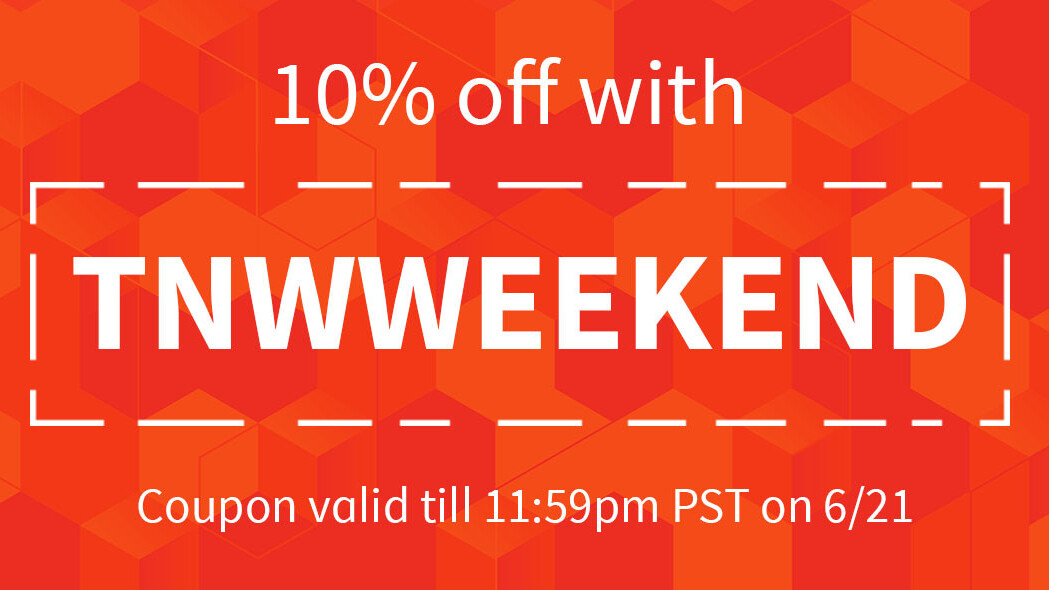 10% off at the TNW Deals store this weekend!