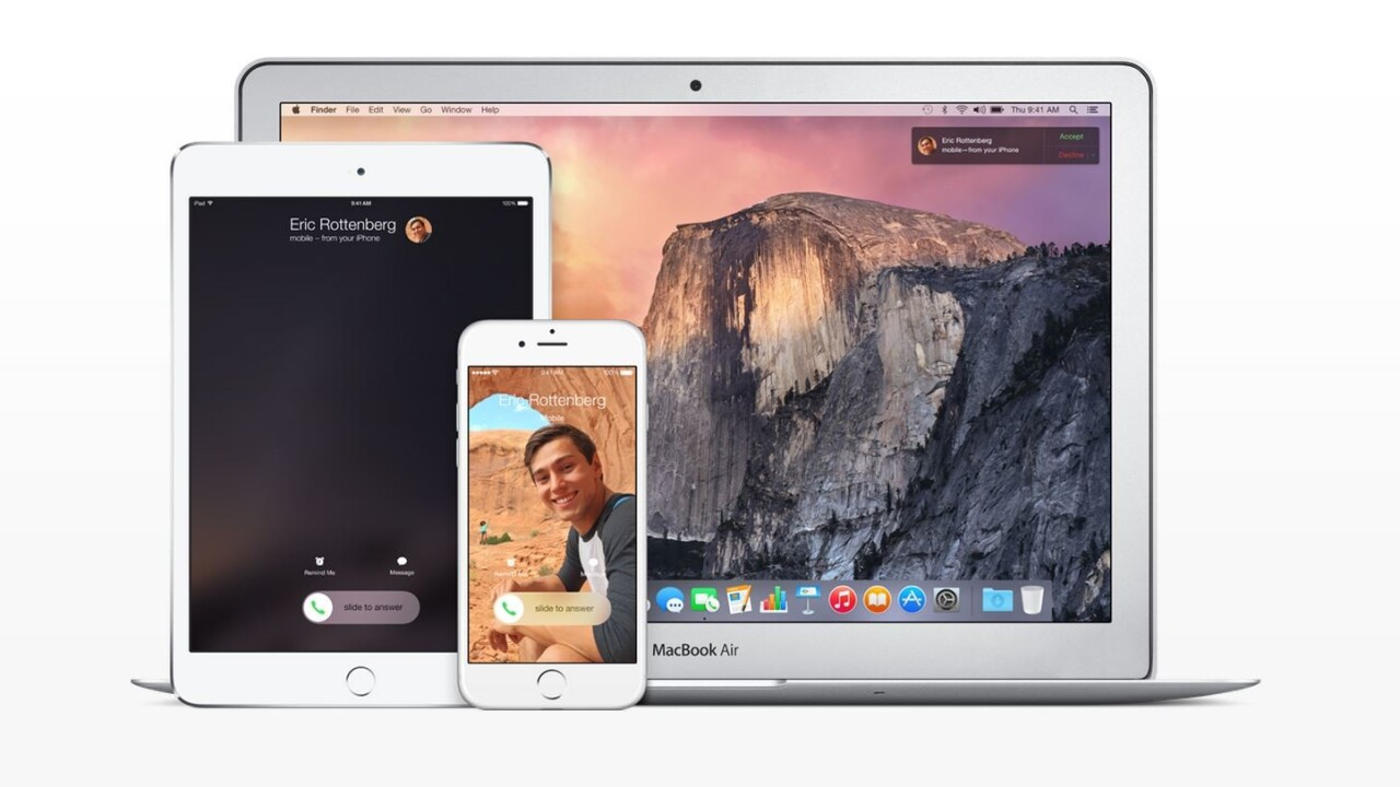 iOS 9 lets you receive iPhone calls on your Mac without being on the same Wi-Fi network
