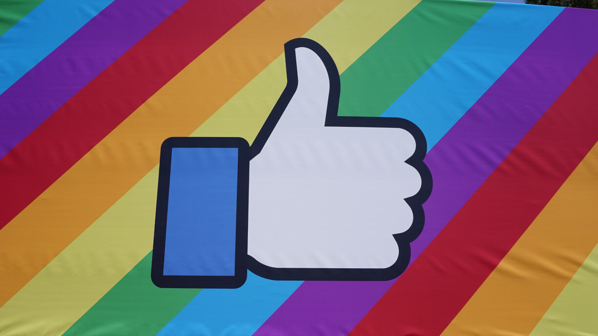 Facebook kicks off pride month 2018 with a bunch of new stickers and backgrounds