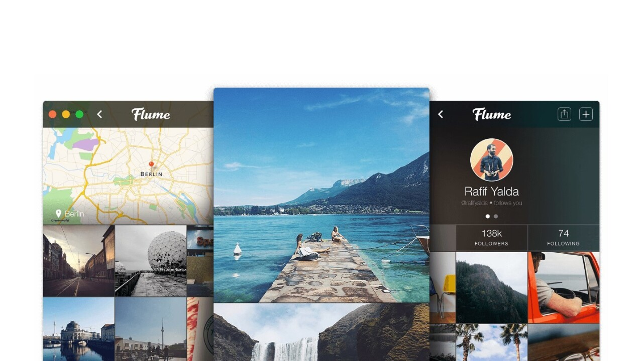 Flume brings your Instagram feed to your New Tab page