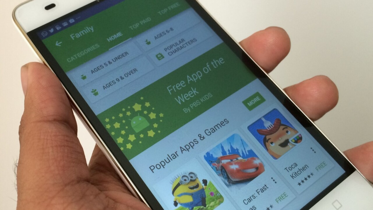 You can now score a free Android app every week from Google Play