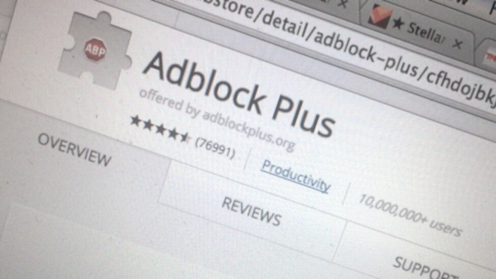 Adblock Plus Chrome extension now works for entire companies