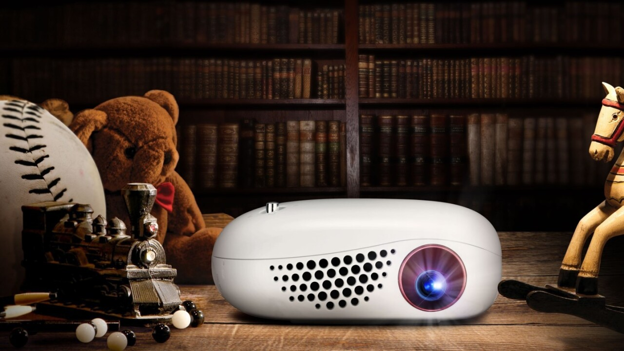 LG's new wireless projector is about the size of your wallet