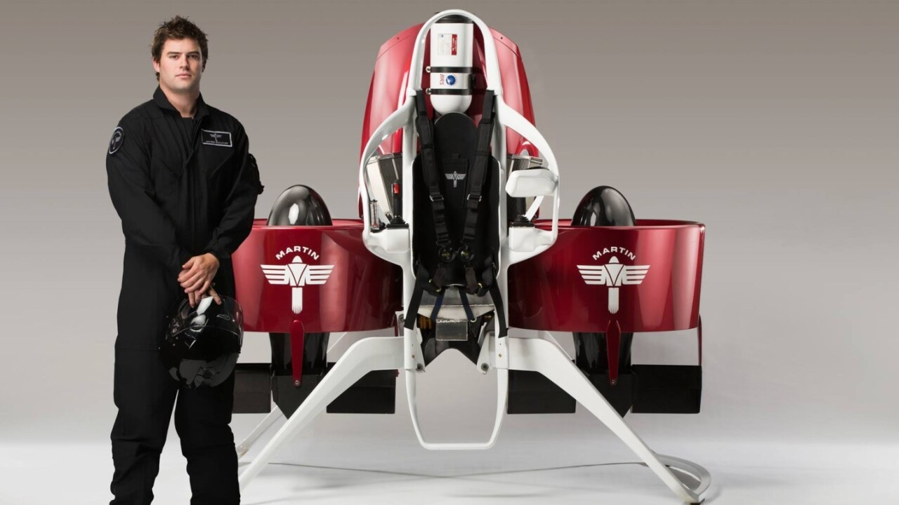 You could be able to buy your own jetpack for $150,000 next year