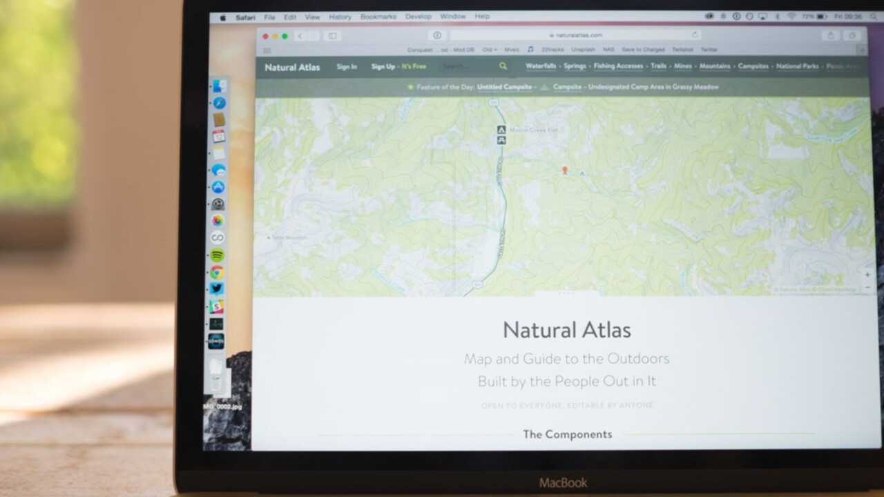 Natural Atlas maps the great outdoors for explorers in the US