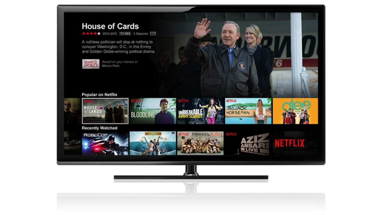 Netflix reportedly launching in India next year