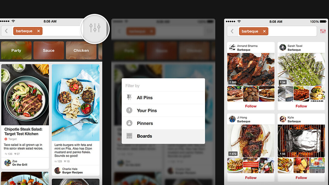 Pinterest enhances its guided search for superior results