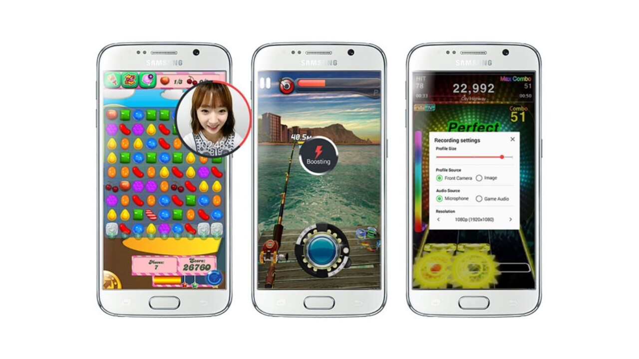 New Samsung app records your best gaming moments, but doesn't play nice with other Android phones